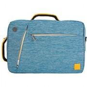 VG Multiple Briefcase Messenger Backpack Shoulder Bag for Apple MacBook/ Lenovo/ Dell/ ASUS/ Acer/ HP/ Toshiba/ Samsung/ Sony/ MSI 13.3/ 14/ 14.1/ 15/ 15.4/ 15.6 inch Laptop Chrome/ Ultrabook (Blue)