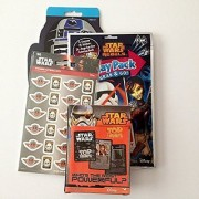 Star Wars Play Pack Grab & Go 96 Stickers Star Wars Card Game Star Wars Sticker 4 Page Book. Great Christmas Birthday Gift Stocking Stuffer!