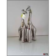 Sculpturen giraf keramiek