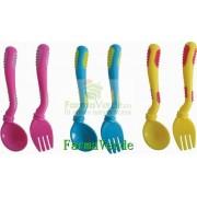Set lingurita si furculita ergonomice RO 517 Primii Pasi