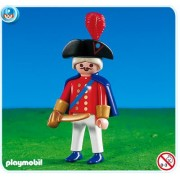 Playmobil Red Soldier Coat Leader