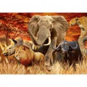 Puzzle Cele Cinci Mari Animale, 1000 Piese