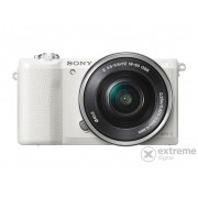 Aparat foto Sony Alpha 5100 kit (obiectiv 16-50mm), alb