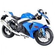 SKYNET 1/12 | Scale Model Motorcycle | SUZUKI GSX R1000 BLUE ( Japanese Import )