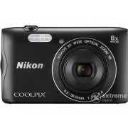 Aparat foto Nikon Coolpix A300, negru