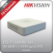 DVR mini 16 Canale HIKVISION DS-7116hvi-sh