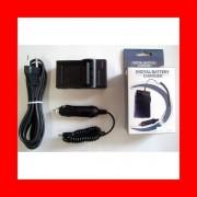 Batterie + Chargeur (USB) DMW-BMB9/BMB9E pour Panasonic Lumix DMC-FZ70, FZ72