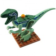 Magideal 8Pcs/Lot Dinosaurs Of Jurassic Park World Kid Baby Toys Building Blocks