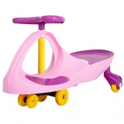 Ride on Toy, Ride on Wiggle Car by Lil' Rider - Ride on Toys for Boys and Girls, 2 year old and up, (Pink and Purple)