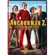ANCHORMAN 2 THE LEGEND CONTINUES DVD 2013