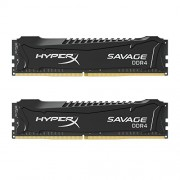 HyperX Savage HX421C13SBK2/16 XMP Memoria da 16 GB, 2133 MHz, DDR4, CL13 DIMM, Kit (2x8 GB), Nero