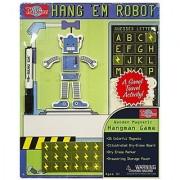 Hang'em Robot Wooden Magnetic Game Board