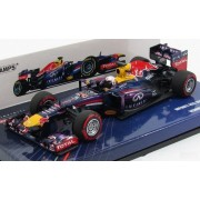 Infinity Red Bull Racing Rb9 Vettel 2013 Winner Bahrain Gp Minichamps 410130201 1/43-Minichamps