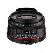 Obiectiv Pentax Ricoh 15mm f/4 DA ED HD AL Limited