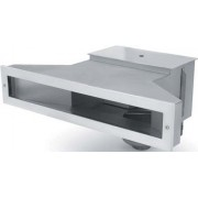Edelstahl-Flach-Skimmer 500 mm
