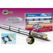 Trenulet de jucarie Pequetren Talgo Pendular 200 With Switch