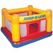 Intex Playhouse Jump-O-Lene Inflatable Bouncer 68 X 68 X 44 for Ages 3-6