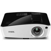 Videoproiector BenQ MW724, 3700 lumeni, 1280 x 800 (Negru-Alb) + Ecran de Proiectie BenQ, 160 x 120 cm, diagonala 200 cm