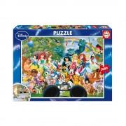 Educa Disney Mesehősök csoportkép puzzle, 3000 darabos