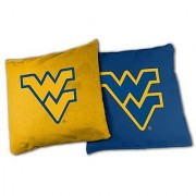 NCAA West Virginia Mountaineers 16oz Duckcloth Cornhole Bean Bags