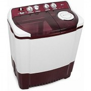 LG P7853R3SA Semi-automatic Top-loading Washing Machine (6.8 Kg Burgundy)