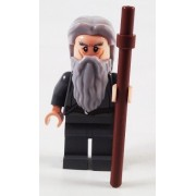 Lego Lord of the Rings Minifigure: Gandalf the Grey with Staff