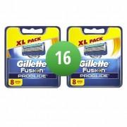Gillette Combi Scheermesjes Fusion ProGlide 16 mesjes 2x8