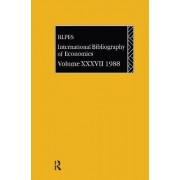 IBSS: Economics 1988: Volume 37 by The British Library of Political and Economic Science