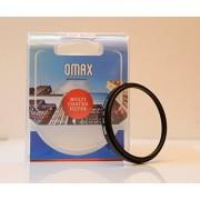Omax 52mm uv filter for nikon af-s d3100 d3200 d5100 d5200 with 18-55mm vr lens kit