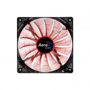 Ventilator Aerocool Shark Evil Black Edition LED 140 mm
