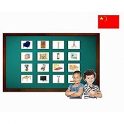 Living Room Flash Cards in Chinese - Mandarin Vocabulary Picture Cards