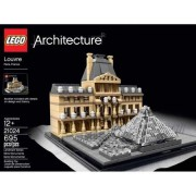 Lego Collection Architecture Louvre, 695pcs