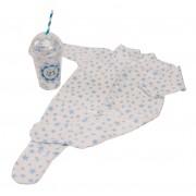 Bluebird - Milkshake Sleepsuit Bleu 3-6 luni