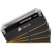 CORSAIR-Dominator Platinum - 16 Go (4 x 4 Go) DDR4-2666 - PC4-21300 - CL15 - Mémoire PC (CMD16GX4M4A2666C15)-