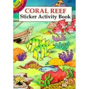 Coral Reef Sticker Activity Book by Cathy Beylon