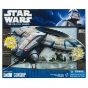 Hasbro Star Wars Clone Starfighter Vehicle Separtist Droid Gunship
