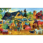 Fresh Fruits and Flowers a 1000-Piece Jigsaw Puzzle by Sunsout Inc.