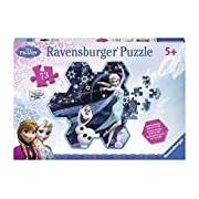 Ravensburger Disney Frozen Elsa's Snowflake 73 piece Shaped Jigsaw Puzzle