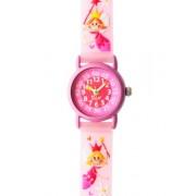 Baby Watch TINY PRINCESSE - Reloj para niñas de cuarzo, correa de plástico color rosa