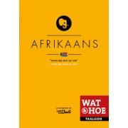 Woordenboek Wat & Hoe taalgids Afrikaans   Kosmos