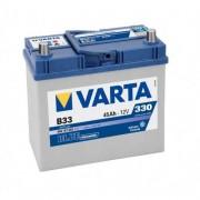 Varta Blue Dinamic 12V 45Ah 330A B33 Asia autó akkumulátor bal+