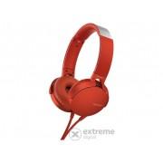 Casti Sony MDRXB550APR, rosu