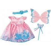 ZAPF CREATION poppenkleertjes, afm. 43 cm, »BABY born® Wonderland glitterfee-set«