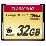 Transcend TS32GCF1000 Scheda di Memoria Compact Flash da 32 GB, Ultimate, Multicolore
