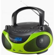 Micro Sitem Sencor SPT 228 BG, CD/MP3 Player, Radio FM (Negru/Verde)