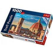 Trefl - 10381 - Puzzle - Basilical di Santa Maria Del Foire - Florence - 1000 Pièces