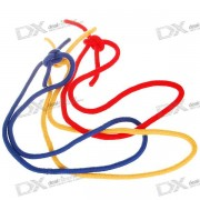 Party Magic Tricks Prop and Training Set - Three Ropes Magic Rings