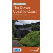 Fietskaart Devon Coast to Coast   Sustrans