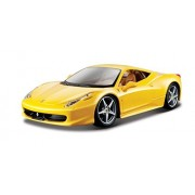 Bburago 1:24 Scale Ferrari Race And Play 458 Italia Diecast Vehicle (Colors May Vary) [Parallel Import Goods]