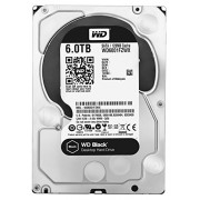 "WD WD6001FZWX Hard Disk Desktop Performance, 7200 RPM, SATA 6 GB/s, 128 MB Cache, 3.5 "", 6 TB, Nero"